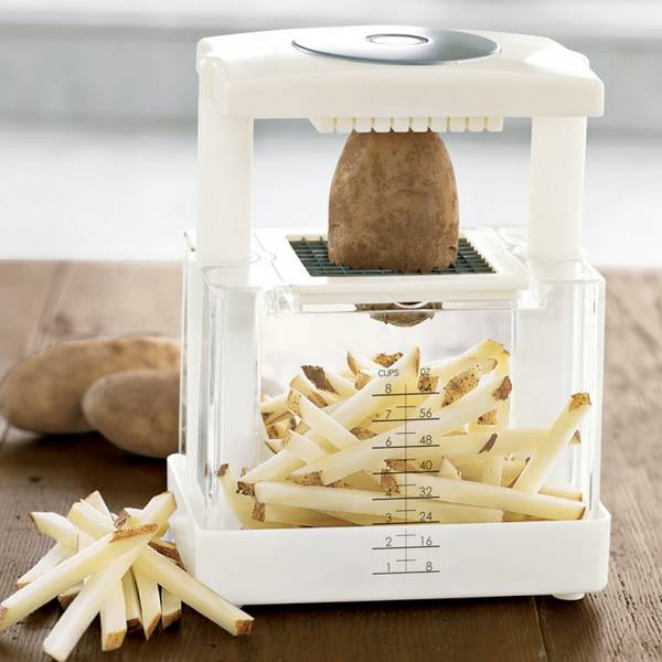 cortador de batatas e outros alimentos