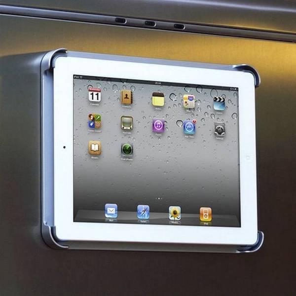 Suporte de geladeira para iPad