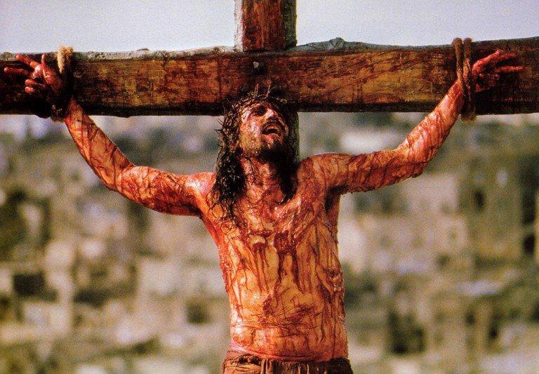 Jim Caviezel em A paixão de Cristo