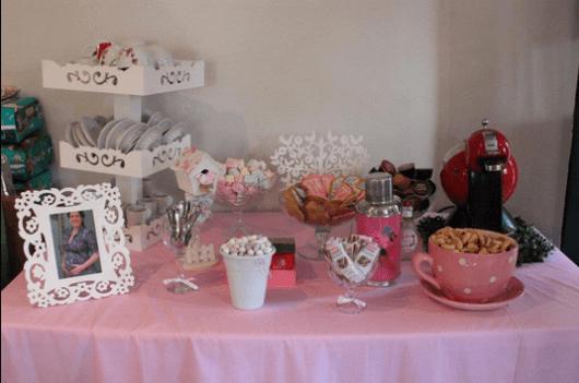 Doces, biscoitos e fotos