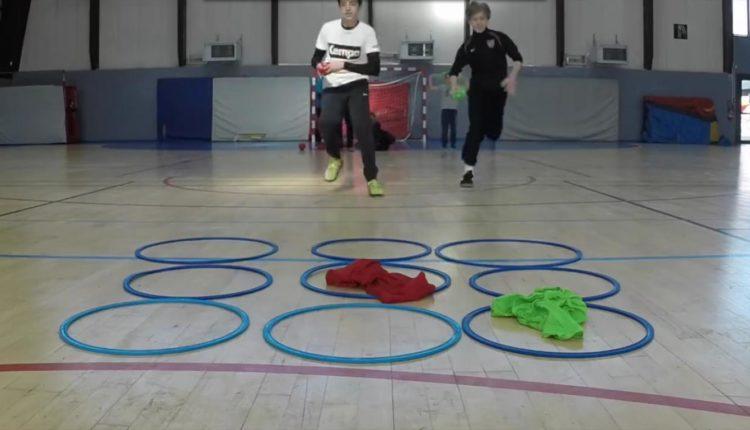 Jogo da velha com exercícios físicos
