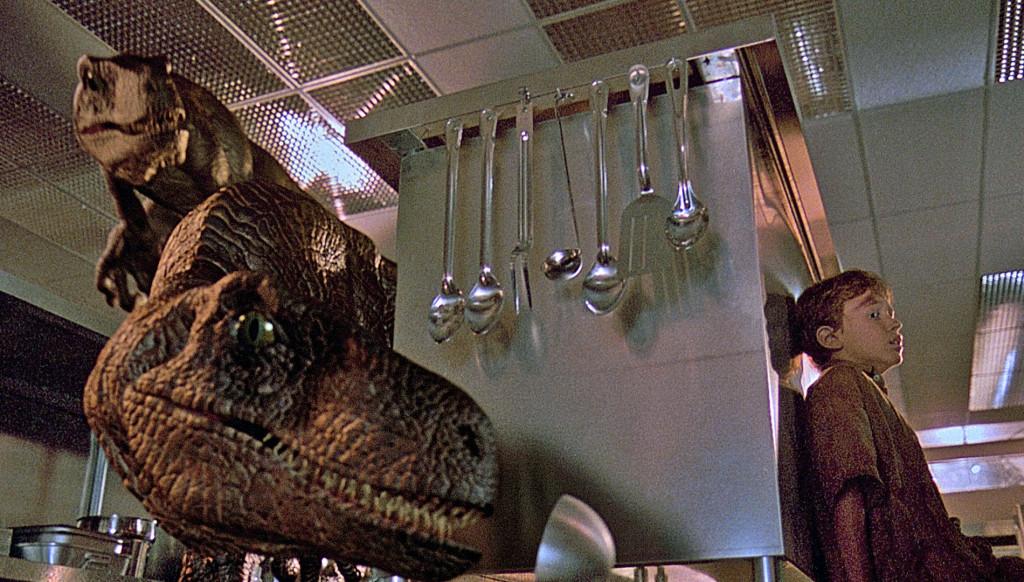 Velociraptor em Jurassic Park