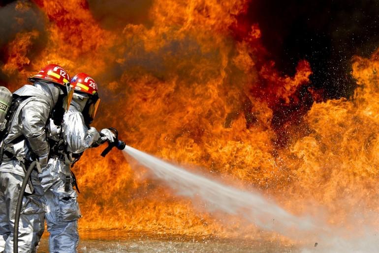 EPI de combate a incêndios