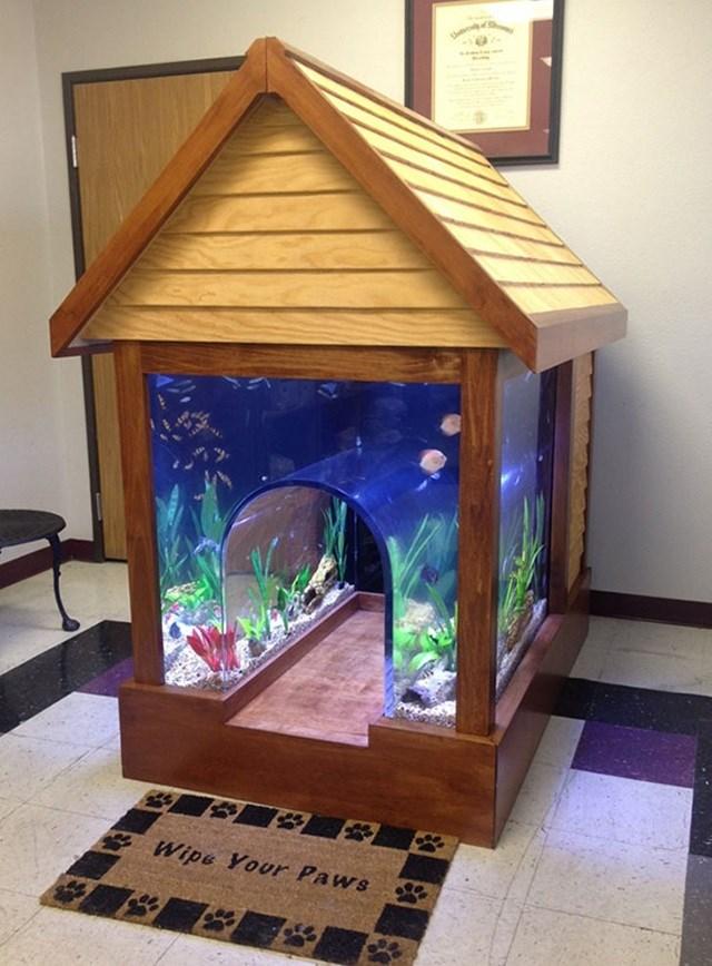 Casa-aquário.