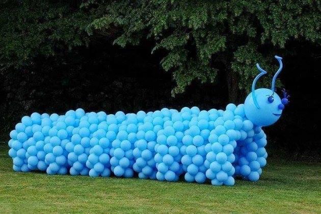 Centopeia de balões