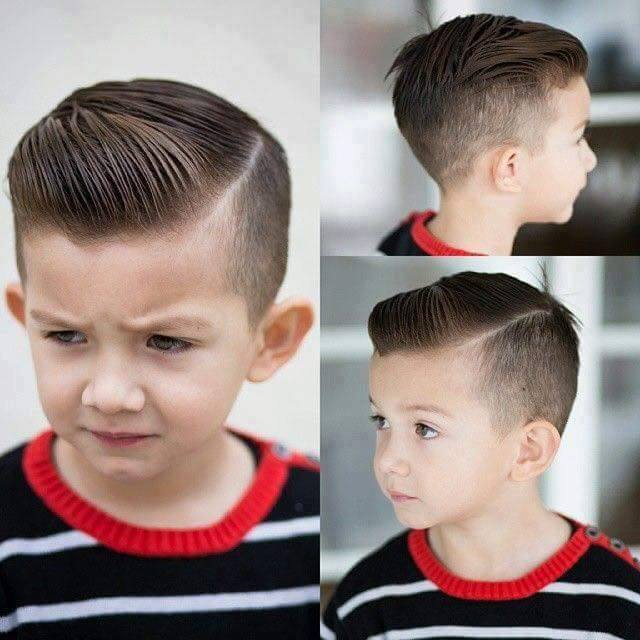 Corte de cabelo para o lado