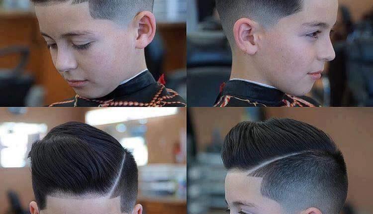 Corte de cabelo criança