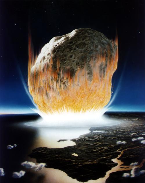 Impacto de asteroide.