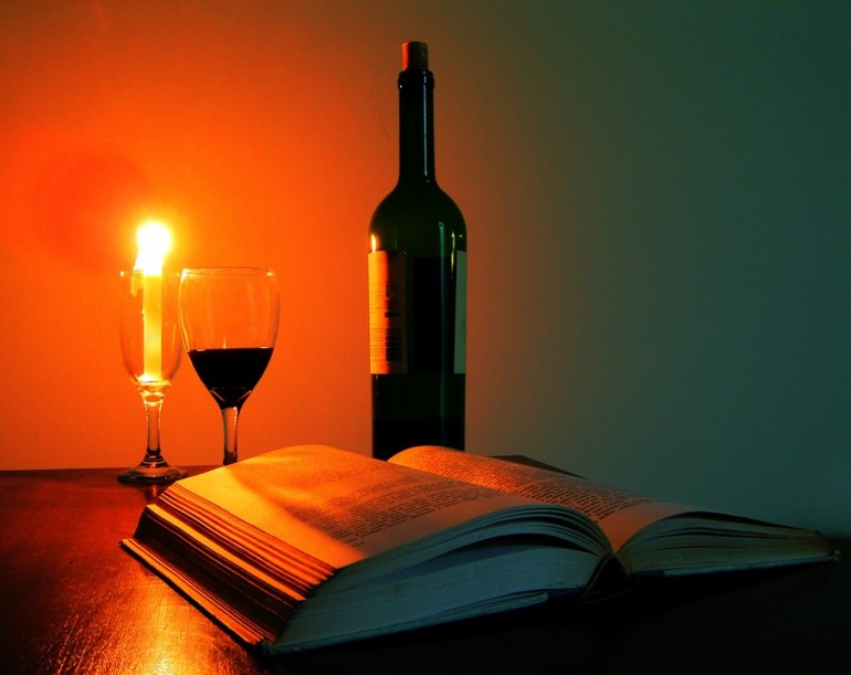 Ler a luz de velas