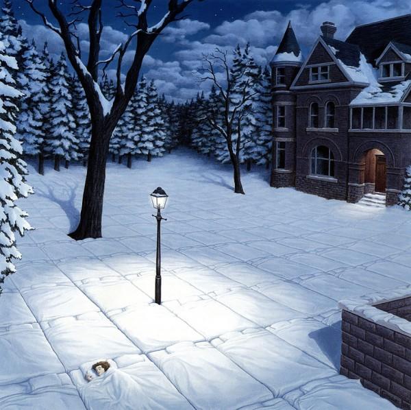 Coberta de neve