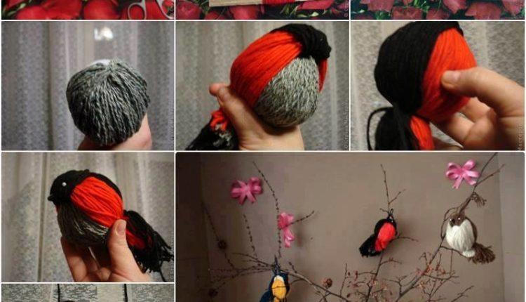 Pássaros de trico
