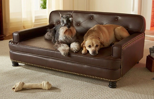 Mini sofá cama.