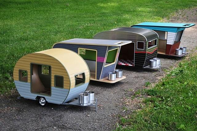 Modelos de trailer pra cachorro.