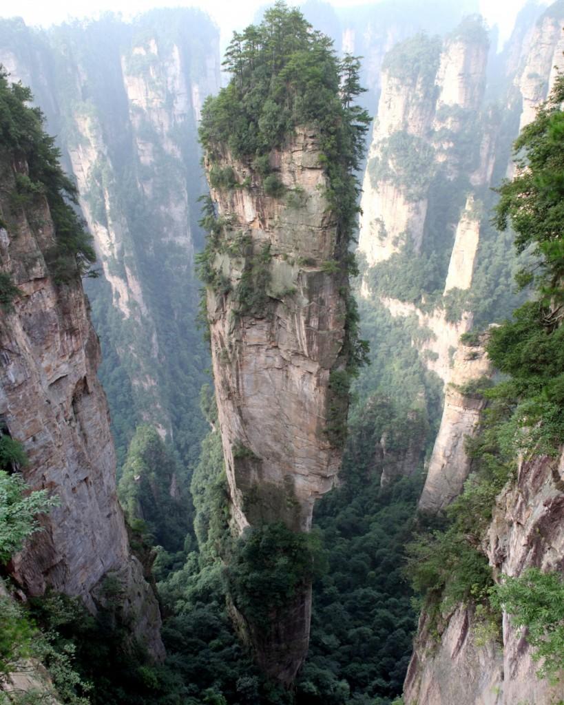 Montanha Zhangjiajie.