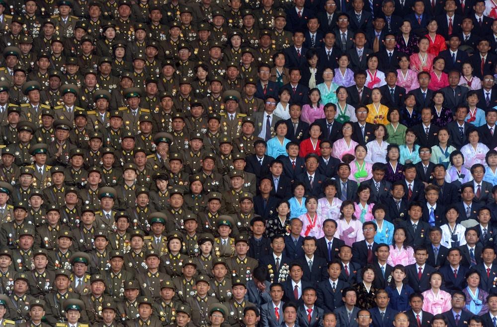 Aniversario na Coreia do norte