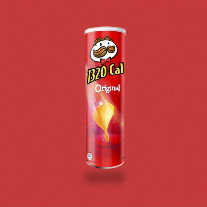 Tubo de Pringles.