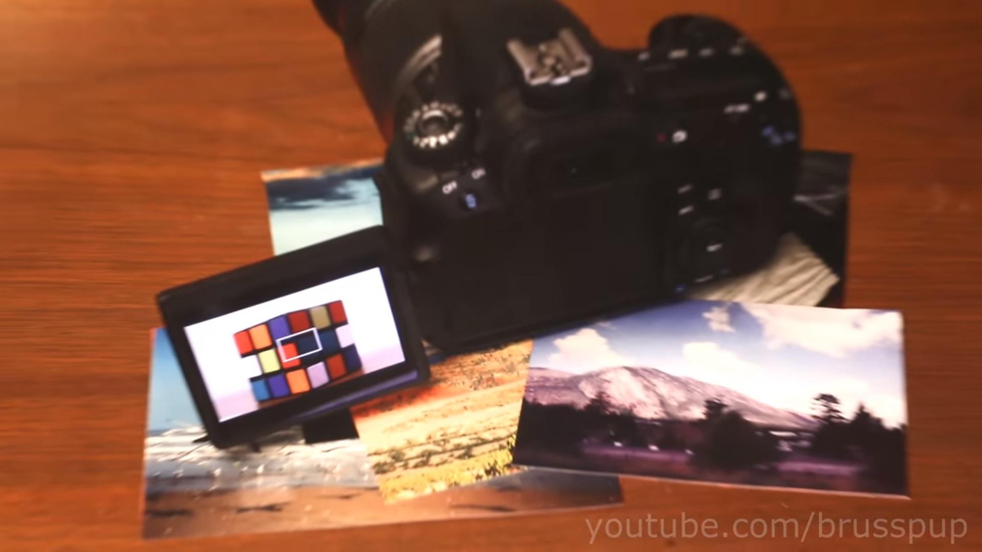 Ilusão de ótica - maquina fotográfica