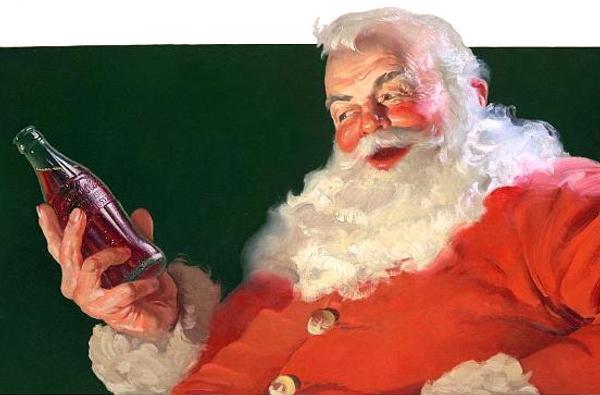 Papai Noel da propaganda da Coca Cola