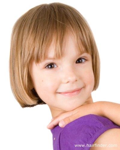 Corte de cabelo para meninas - Curtinho liso