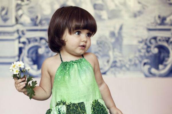 Corte de cabelo para meninas - Cabelo Chanel