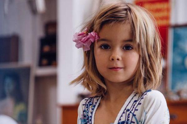 Corte de cabelo para meninas - Cabelo na altura do pescoço