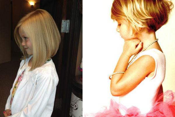 Corte de cabelo para meninas - Alisados