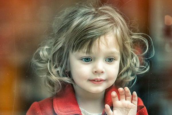 Corte de cabelo para meninas - Cabelo anelado