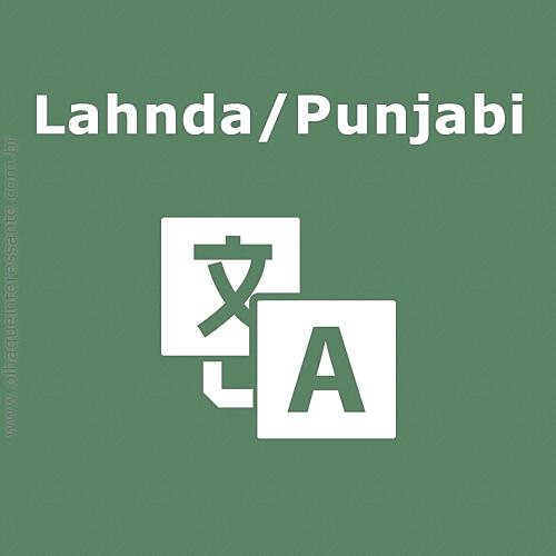 Lahnda/Punjabi