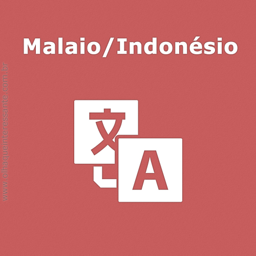 Malaio/Indonésio