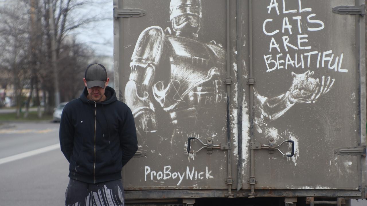 Arte em caminhão