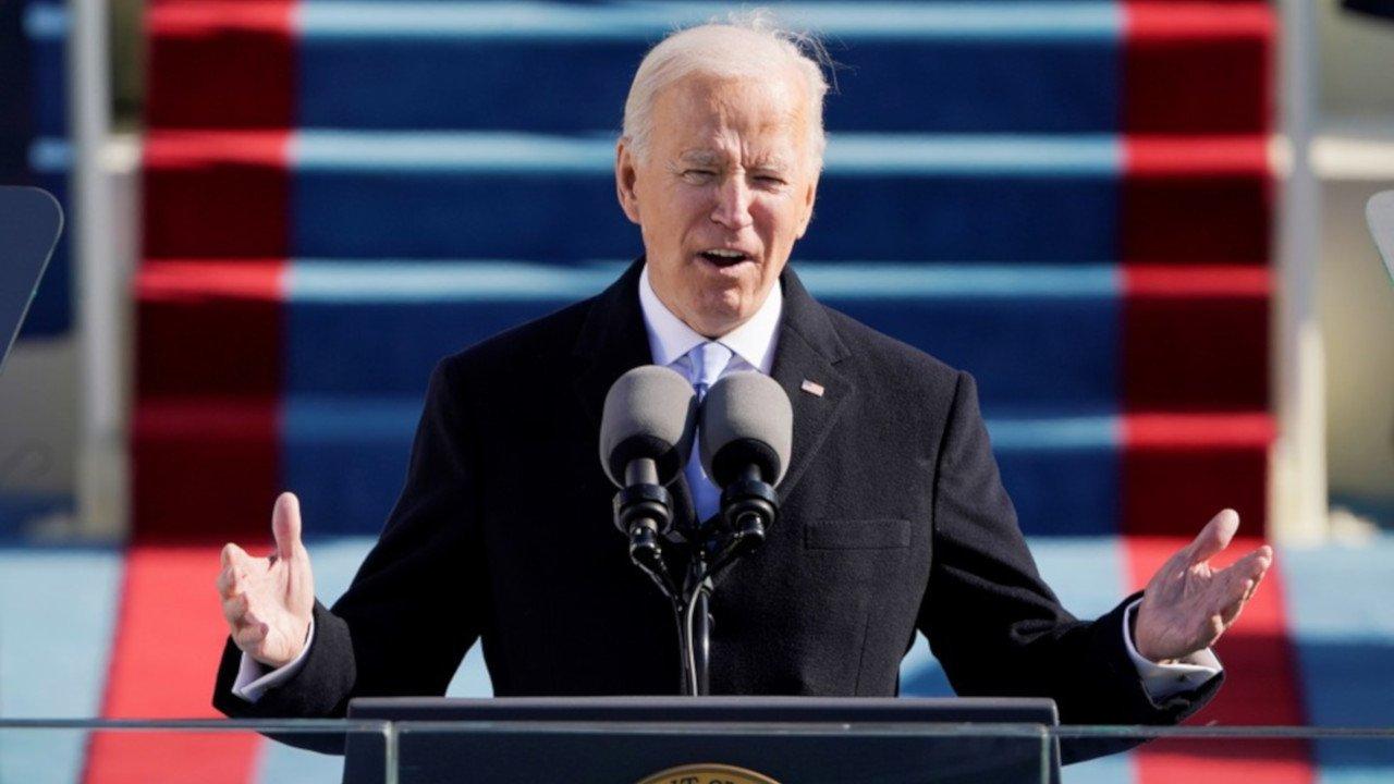 Posse de Joe Biden