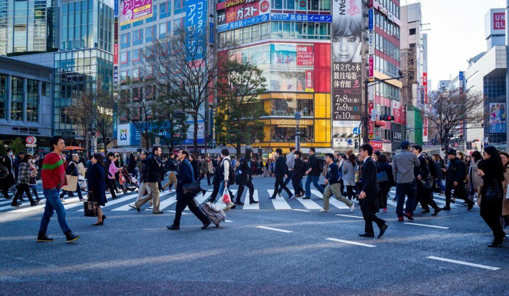 População em Tóquio