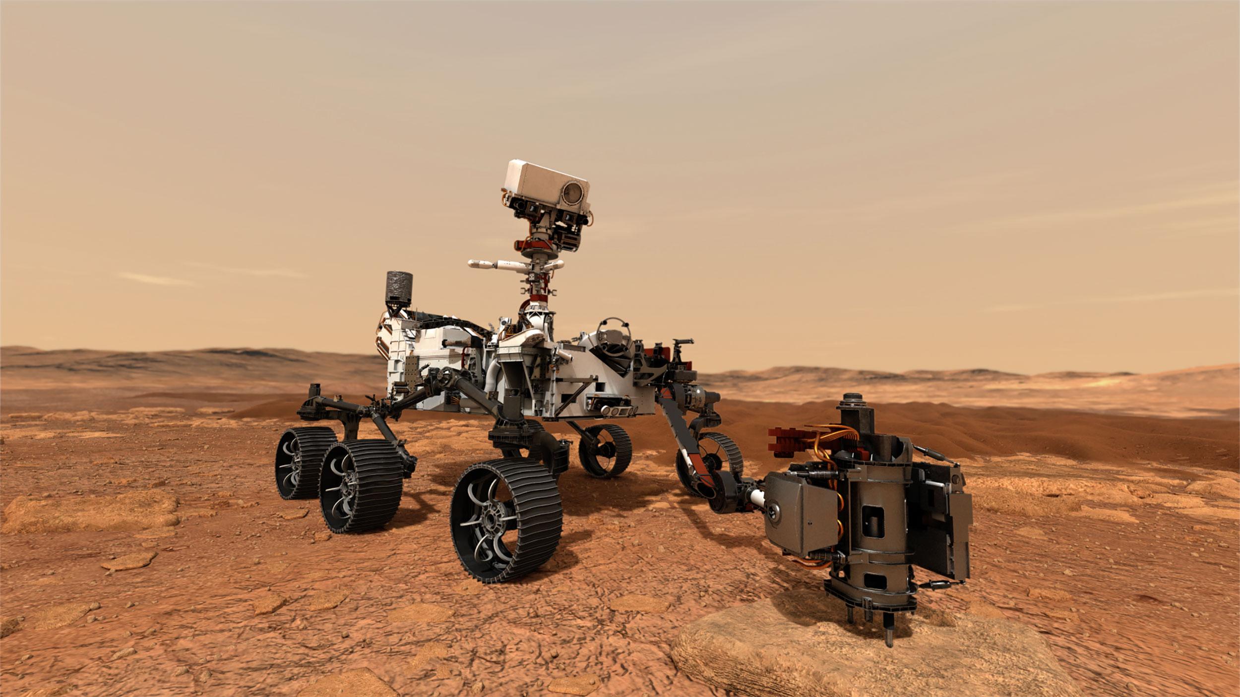 Nomes de terráqueos em Marte