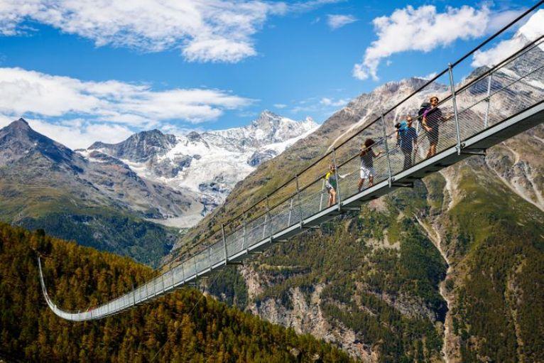 Maior ponte suspensa para pedestre