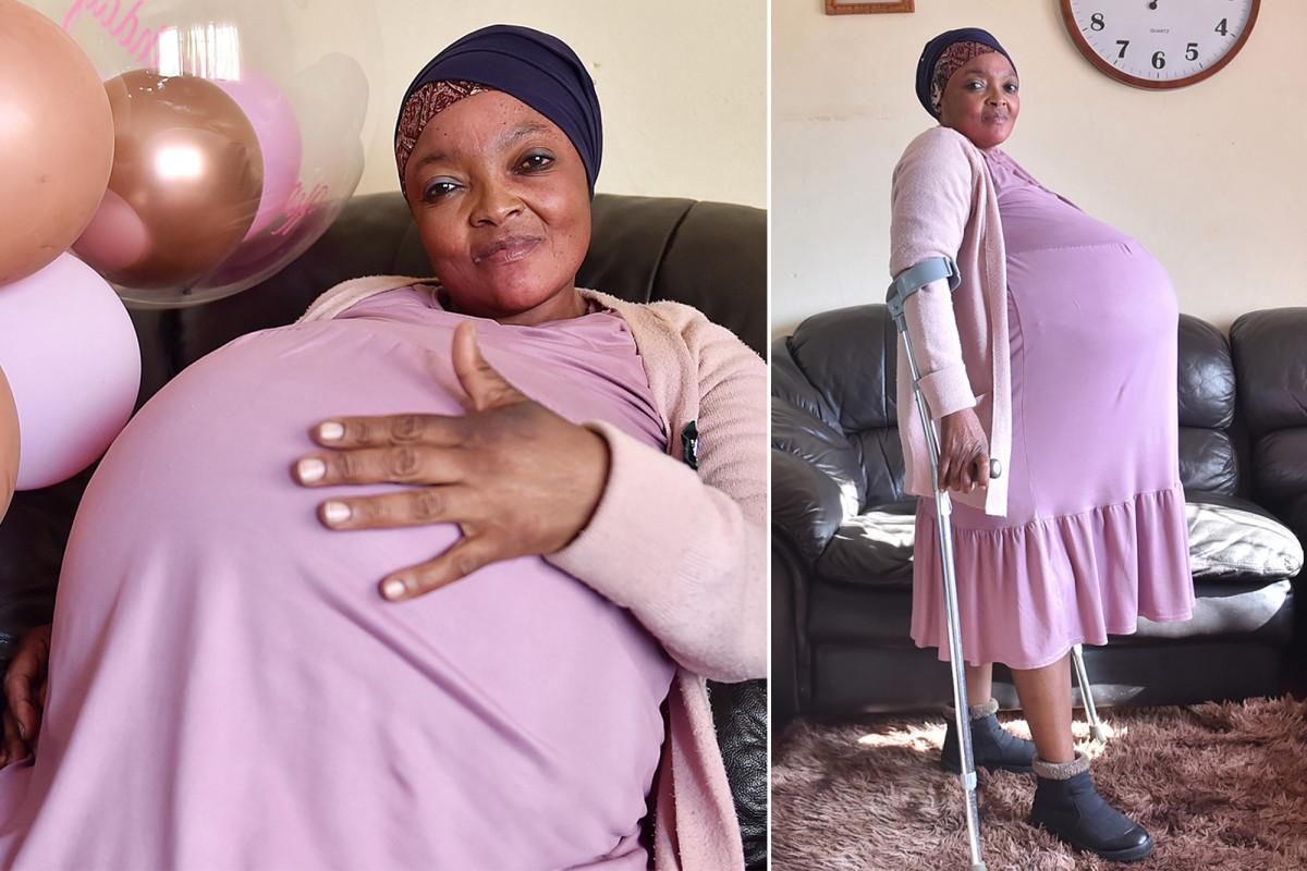Gosiame Sithole - Mulher dá a luz a dez filhos na África do Sul