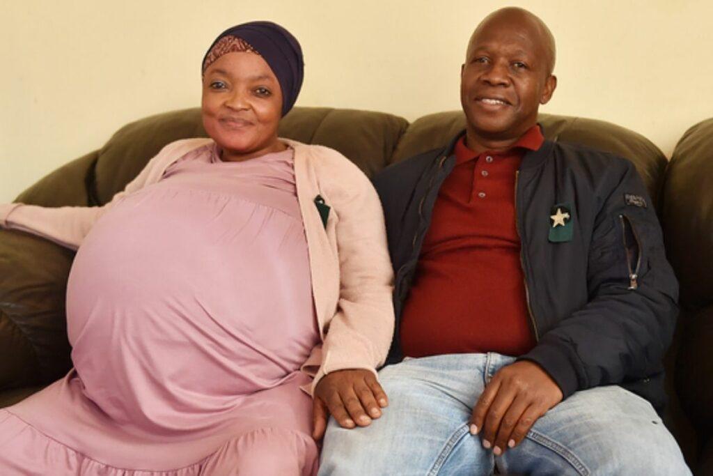 Mulher dá a luz a dez filhos na África do Sul